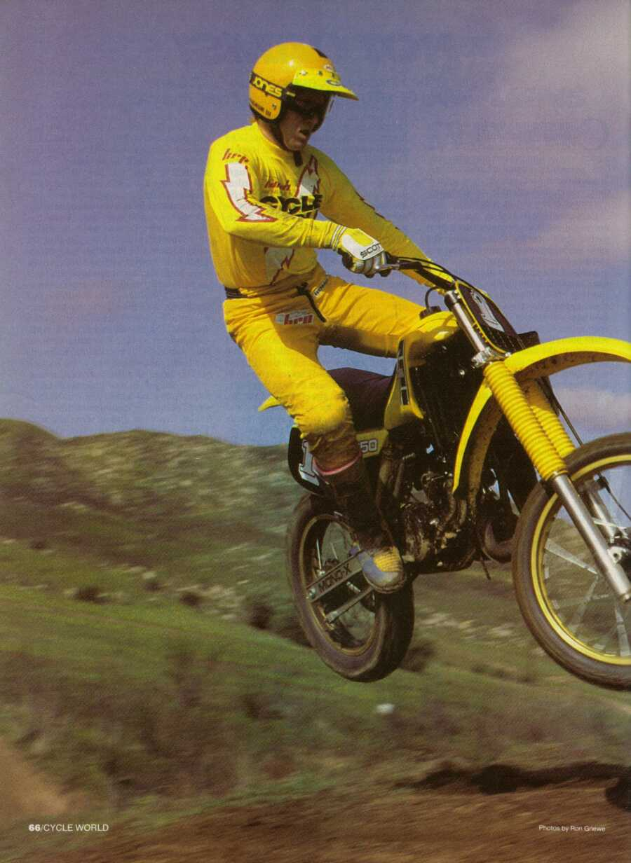 83 YZ 250 CYCLE WORLD ARTICLE